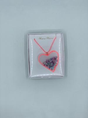 Heart shaker necklace logo