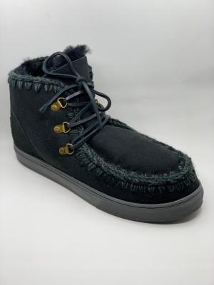 Sneaker lace-up uomo-black logo
