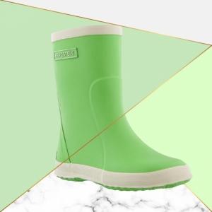 Rainboot Lime green logo