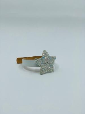 BRACELET sparkle stars white logo