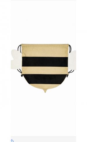 Back bag bumblebee logo