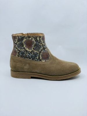 Trip Rolls Boots Taupe  logo