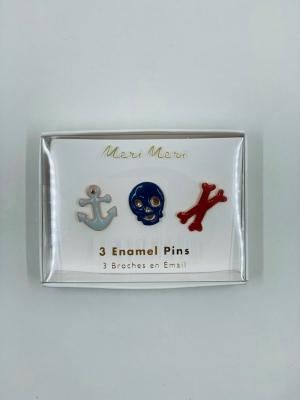 Pirate Enamel Lapel Pins logo
