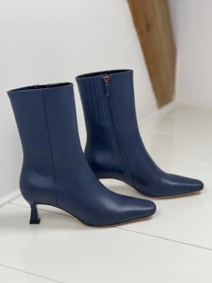 032T10BK Boot Azul blue logo