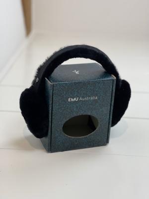 W9403 Earmuffs black logo